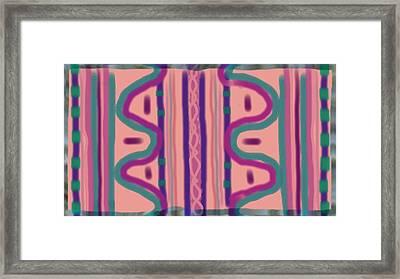 Maya Framed Print by Rosana Ortiz