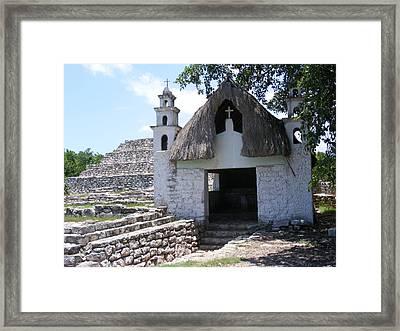 Mayan Chapel Framed Print
