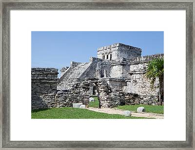 Mayan Ruins Framed Print by Monica and Michael Sweet