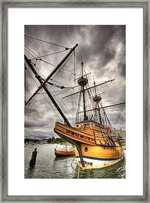 Mayflower II Framed Print