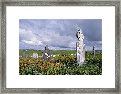 Mayo Cemetery Framed Print