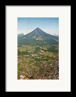 Mayon Volcano Framed Prints
