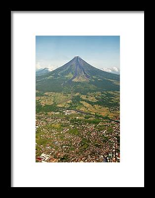 Mayon Framed Prints