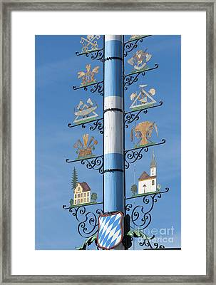 Maypole  Framed Print by Andrew  Michael