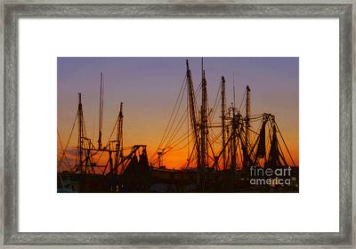 Mayport Framed Print by Lydia Holly