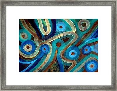 Maze In The Hell Framed Print by Aquira Kusume