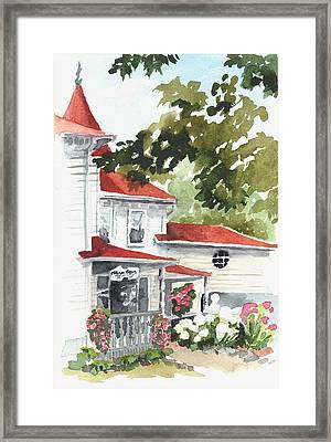 Mccann House Framed Print by Judi Nyerges