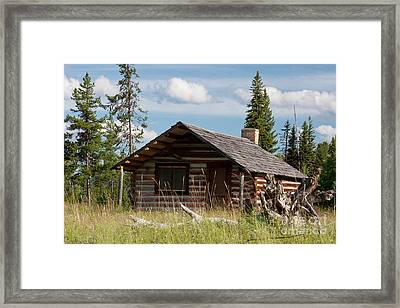 Mccarthy Homestead Framed Print by Katie LaSalle-Lowery