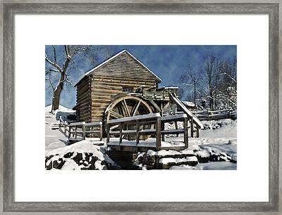 Mccormick's Farm February 2012 Series II Framed Print by Kathy Jennings