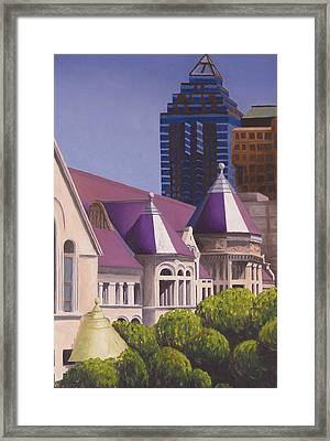 Mcgill Peaks Framed Print by Duane Gordon