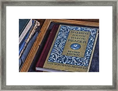 Mcguffey Reader Framed Print