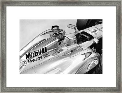 Mchamilton Framed Print by Lyle Brown