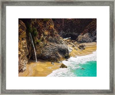 Mcway Falls California Framed Print by Utah Images