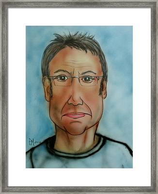 Me Again Framed Print by Pete Maier