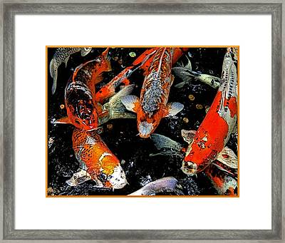 Me First Framed Print by Mindy Newman
