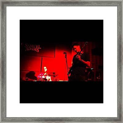 #me #myself #i #rock #band #guitar Framed Print