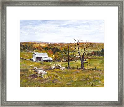 Meadow Life Framed Print