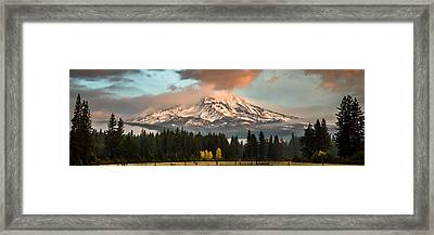 Framed Print featuring the photograph Meadow Views by Randy Wood