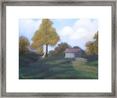 Meadow's Edge Framed Print by Amity Traylor