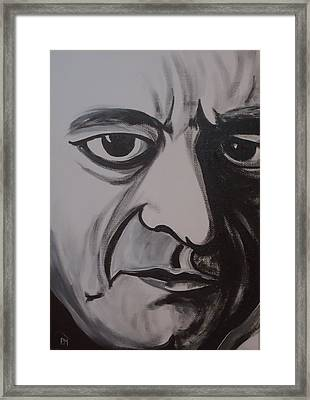 Mean Eyed Cat II Framed Print by Pete Maier