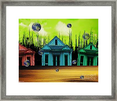 Means Of Escape Framed Print