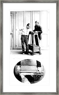 Measurement Of The Cubit, Bertillon Framed Print