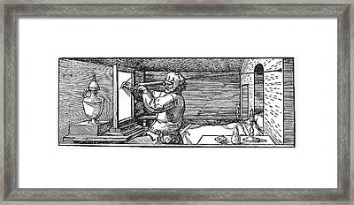 Measuring Perspective For Art Framed Print