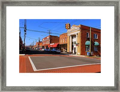 Mebane North Carolina Framed Print by Bob Whitt