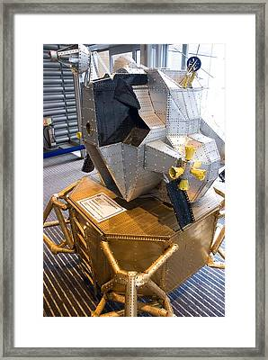 Meccano Apollo Lunar Module Framed Print
