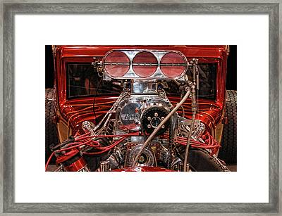 Framed Print featuring the photograph Mechanicals 101 The Go Part by Bill Dutting