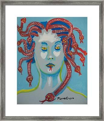 Med 2 Framed Print by Jay Manne-Crusoe