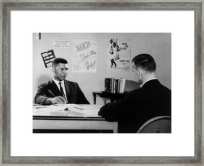 Medgar Evers, Naacp Leader Framed Print by Everett