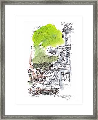 Medici Grotto Paris Framed Print