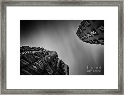 Medienhafen Framed Print by Geoffrey Gilson