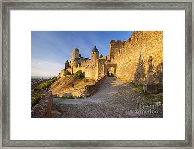 Medieval Carcassonne Framed Print