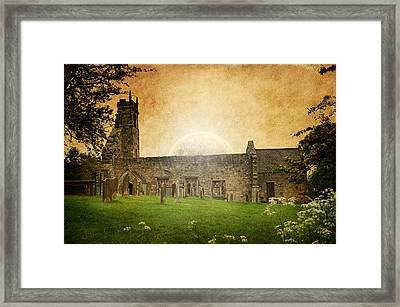 Medieval Church Framed Print by Svetlana Sewell