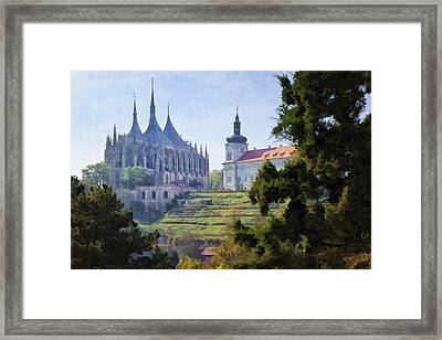 Medieval Framed Print by Joan Carroll