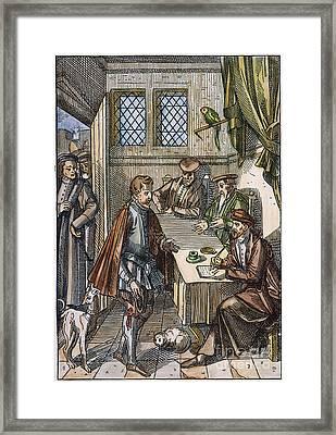 Medieval Kings Bailiff Framed Print by Granger