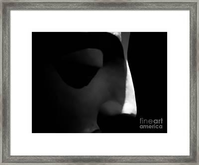 Meditation 8 Framed Print by Elena Mussi