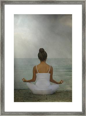 Meditation Framed Print by Joana Kruse