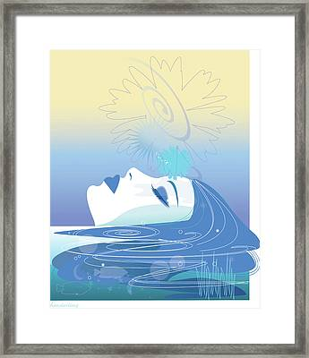 Meditation Framed Print by Lisa Henderling