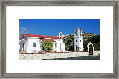Mediterranean Beauty Framed Print