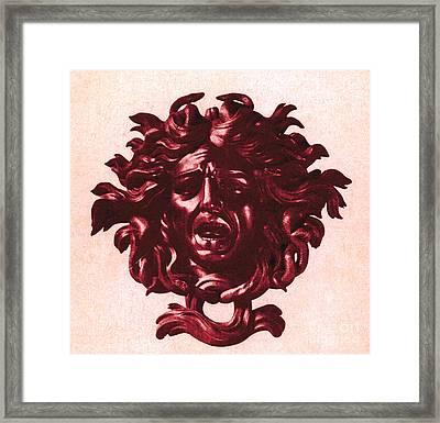 Medusa Head Framed Print by Photo Researchers