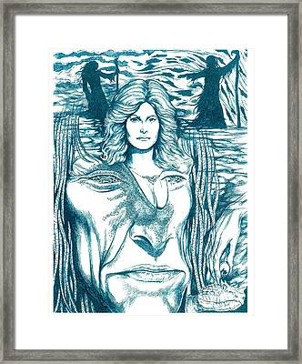 Medusa Lament Framed Print by Jamie Jonas