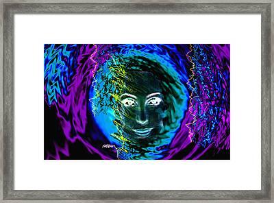 Medusa's Ghost Framed Print