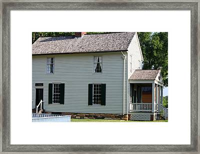 Meeks Store Appomattox Court House Virginia Framed Print by Teresa Mucha