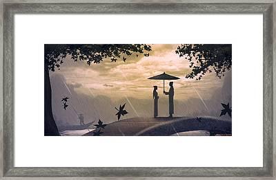 Meet Framed Print by Hiroshi Shih