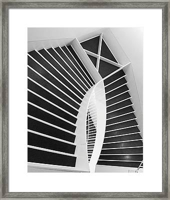 Meet Me Under The Stairs Framed Print