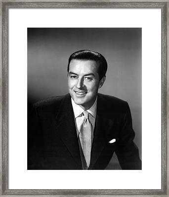 Meet Mr. Mcnulty, Aka The Ray Milland Framed Print