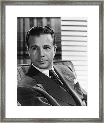 Meet The People, Dick Powell, 1944 Framed Print by Everett